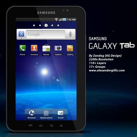 Samsung Tab P1000 Terbaru samsung galaxy tab p1000 psd by zandog on deviantart