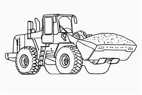 Construction Vehicles Coloring Pages Download And Print Vehicle Coloring Pages