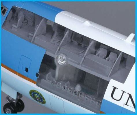 air force one layout interior dragon air force one boeing vc 25a 747 200b 1 144 model