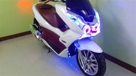 Topbox Pcx Led 150 custom 2012 pcx with custom led lighting led lights http custompcx