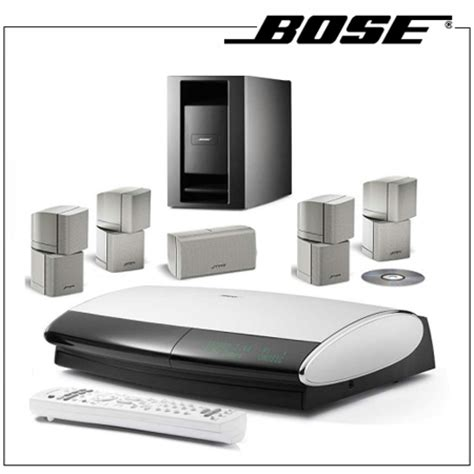 bose lifestyle 28 dvd home entertainment system