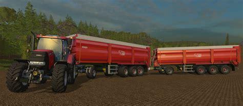 tandem kre sb 30 60 trailer mod for farming simulator kre sb 30 60 trailer v 1 0 color pack fs15 mod