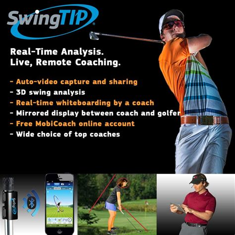 golf swing analysis swingtip golf swing analyzer golf swing