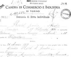 iscrizione alla di commercio ditta individuale l azienda fonderia mascherpa aldo s r l pianezza
