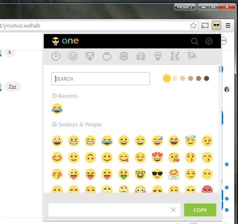 tutorial emoji keyboard search for and insert emoji from your browser chrome
