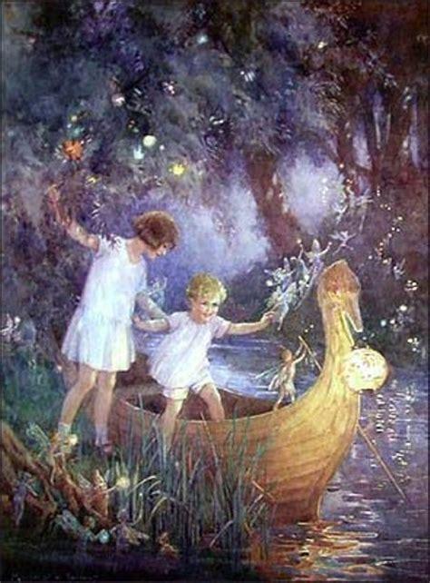 fairy boat pictures elfen boeken ills margaret tarrant