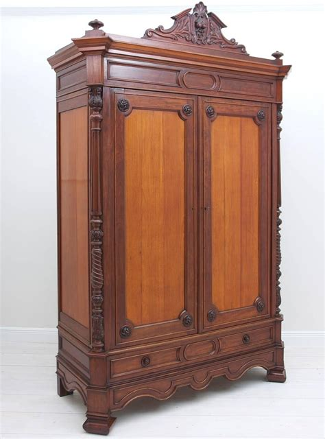 Large Antique Armoire by Large Antique Napoleon Iii Armoire In Mahogany