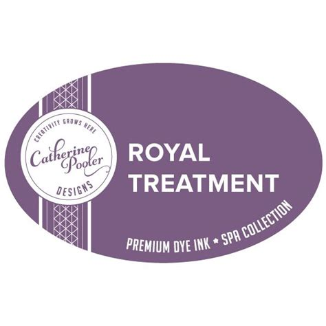 The Roy Ale Treatment by Royal Treatment Ink Pad And Refill By Catherine Pooler