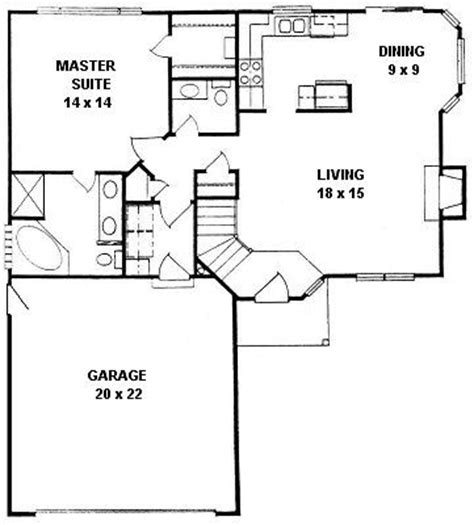 floor plan for a 940 sq ft ranch style home 1000 images about house plans on square