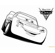 Cars 3 Lightning McQueen Coloring Page  Free