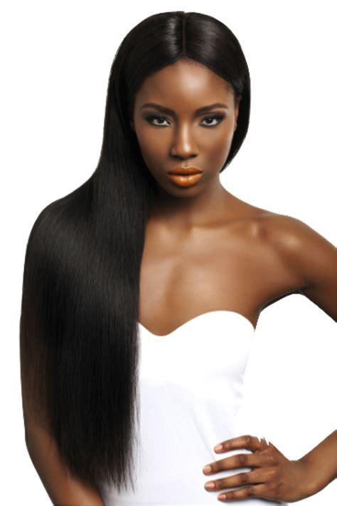 Black Model Hair