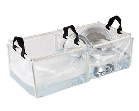 Coleman C Kitchen With Sink 2 Coleman Portable Cing Folding Pvc Wash Basin Kitchen Sinks W Handles Ebay