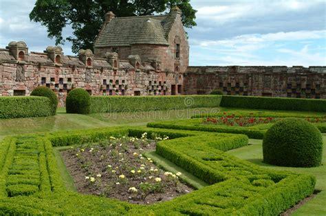 giardino ornamentale giardino ornamentale di edzell scozia immagine