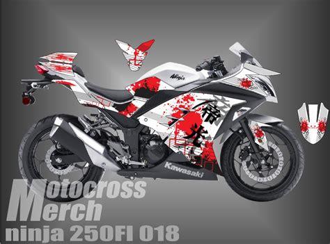 Decal 250fi Hujau decal kawasaki 250 fi laman 3 motocross merch