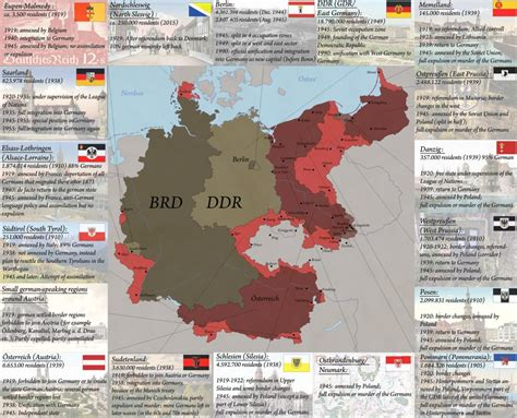 germany 1945 map germanys loss of territory by arminius1871 on deviantart