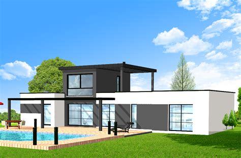 Plan Maison 200m2 4278 plan maison 200m2 plan maison plain pied 200m2
