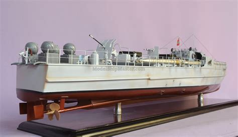German S-100 torpedo boat model Schnellboot (S-Boot) E Boats