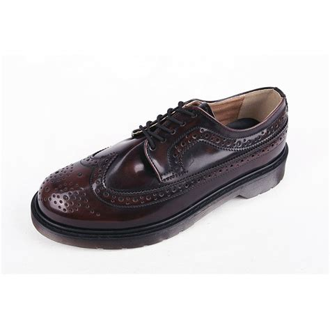 s wingtips platform high heels brown oxfords