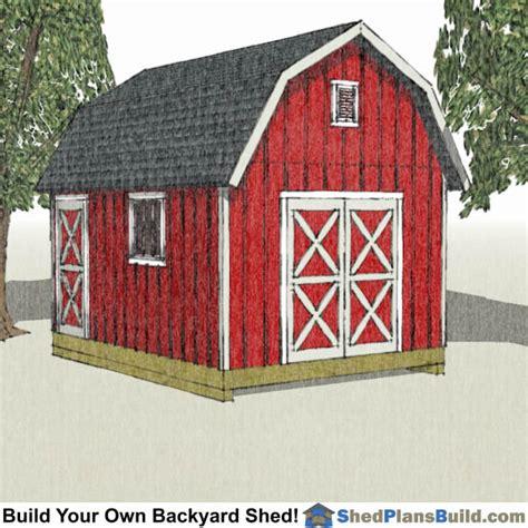 12x16 gambrel storage shed plans 12x16 shed plans build a backyard shed