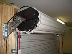 motorized roll up garage door screen kit http