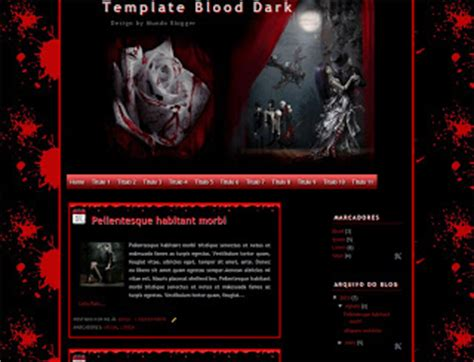 blogger themes gothic 5 gothic blogger templates for goth loving bloggers