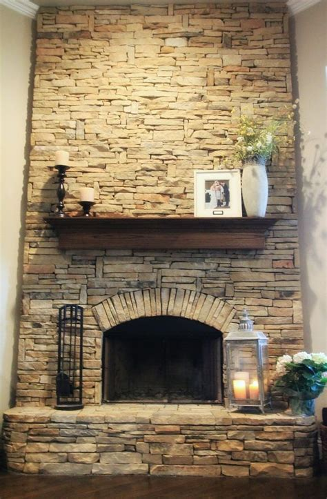 rock fireplaces 17 best ideas about stacked stone fireplaces on pinterest