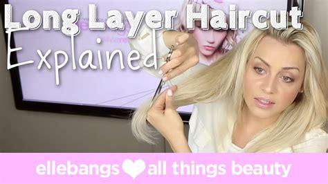 Long Layered Haircuts With Bangs 2014