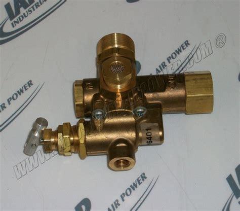 quincy   side  discharge unloader valve