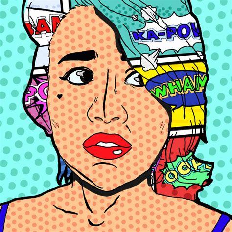 Pop Portrait Artists Pop Self Portrait By And Stardust On Deviantart