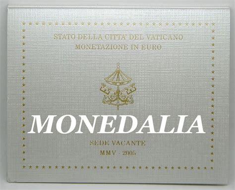 sede vacante 2005 2005 vaticano euros sede vacante monedalia es