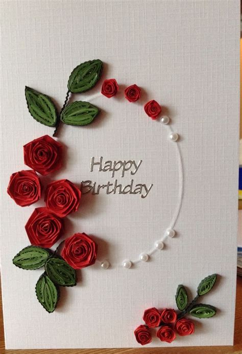 25 best ideas about quilling birthday cards on