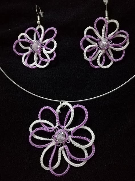 fiori chiacchierino parure fiori a chiacchierino gioielli orecchini di