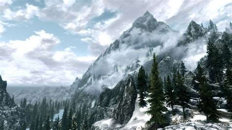 skyrim landscape landscape wallpapers at skyrim nexus mods and community