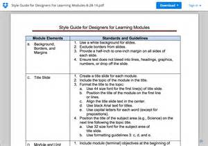 Facilitator Guide Template by Facilitator Guide Template Ebook Database