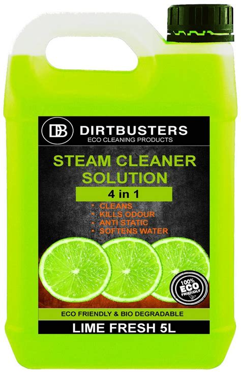 lime steam mop solution detergent