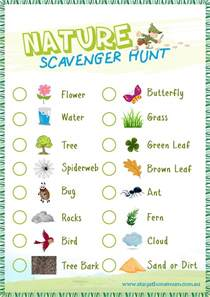 Backyard Scavenger Hunt Ideas Nature Scavenger Hunt Free Printable Stay At Home