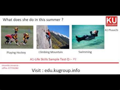 ielts life skills a1 official cambridge test practice ielts life skills a1 sle test q1 p2 youtube