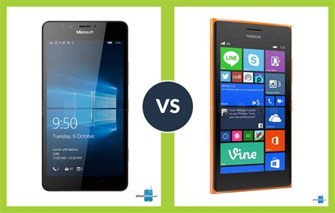 Nokia Microsoft Lumia 950 microsoft lumia 950 vs nokia lumia 730