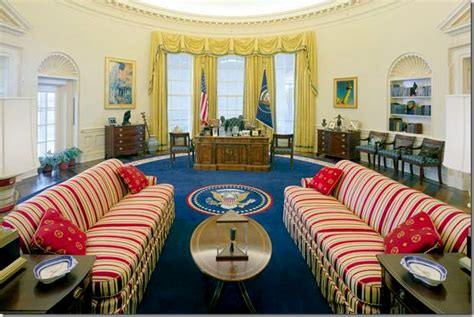 oval office through the years the new look of the oval office drab
