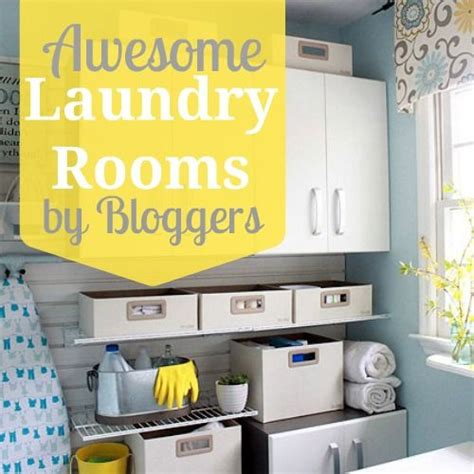 Remodelaholic Home Sweet Home On Home Sweet Home On A Budget Awesome Laundry Rooms By