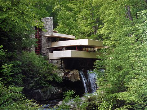 falling water architect pennsylvania fallingwater frank lloyd wright buildings