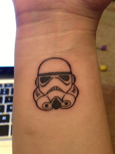 my new storm trooper tattoo got it done at sublime line