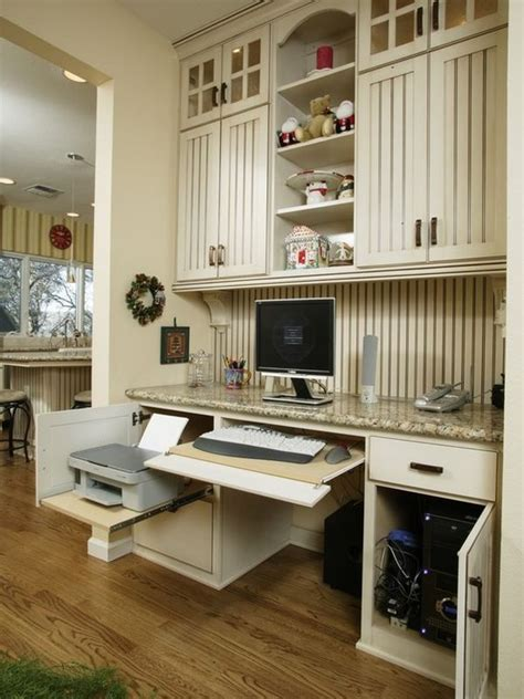 kitchen desk ideas 20 clever ideas to design a functional office in your kitchen