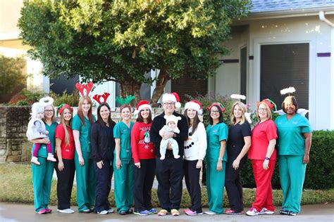 bedford tx dentist office staff at davis family dental care