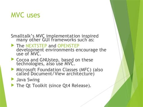 java swing toolkit ppt of basic mvc structure