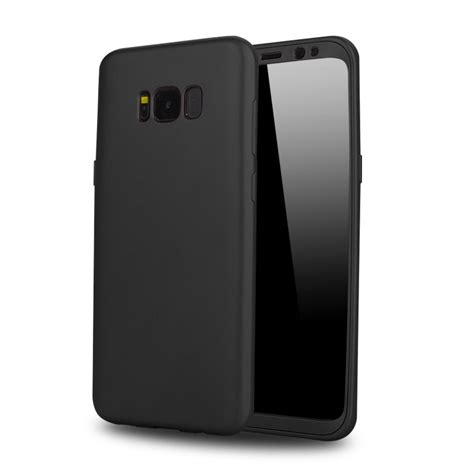 Softcase 360 Sillicon Cover Samsung S8 S8 Plus Soft Ultrathin for samsung galaxy s8 360 degree protection matte pc soft tpu back cover for
