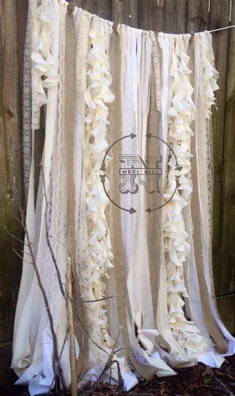 how to make drapes for wedding 10 best ideas about ribbon curtain on pinterest scrap