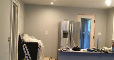 behr silver bullet kitchen  dining room renovation