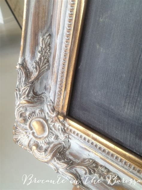 chalk paint gold easiest makeover sloan white brushed