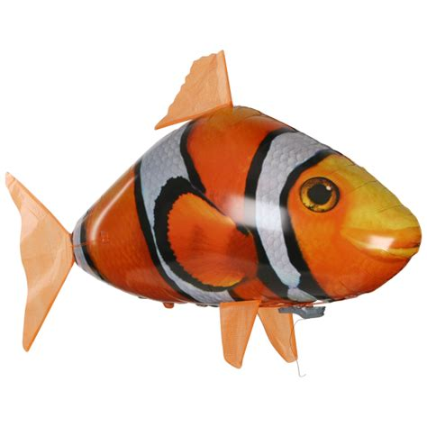 Flying Fish Air Swimmer Clownfish Nemo air swimmers remote clown fish iwoot